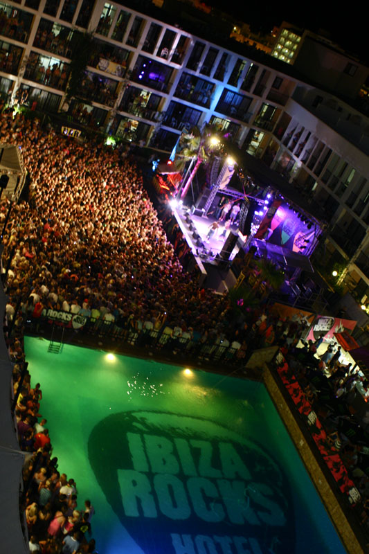 Dizzee Rascal at Ibiza Rocks Hotel